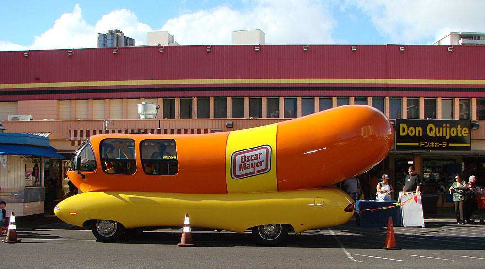 also The Oscar Mayer Wienermobile Fun For Kids Of All Ages in addition Gear Head Tuesday The Oscar Meyer Weinermobile furthermore Feast Wienermobile Takes San Diego Ride besides Wienermobile Cruises Oahu. on oscar mayer wienermobile seats