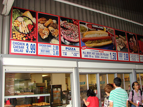 Costco Food Court Honolulu Summer 14 Update Tasty Island