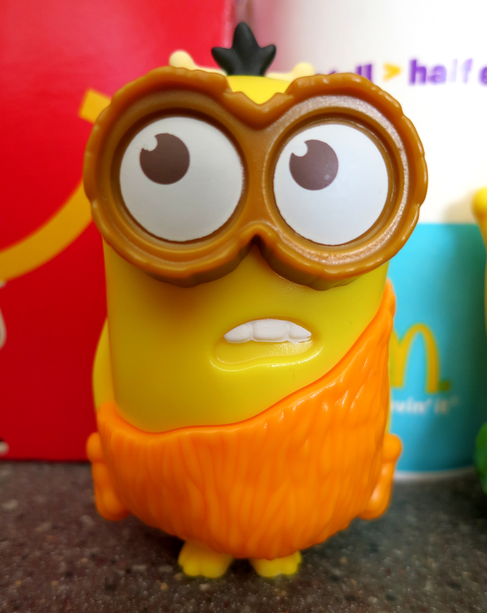 McDonald's Happy Meal Minions – Tasty Island