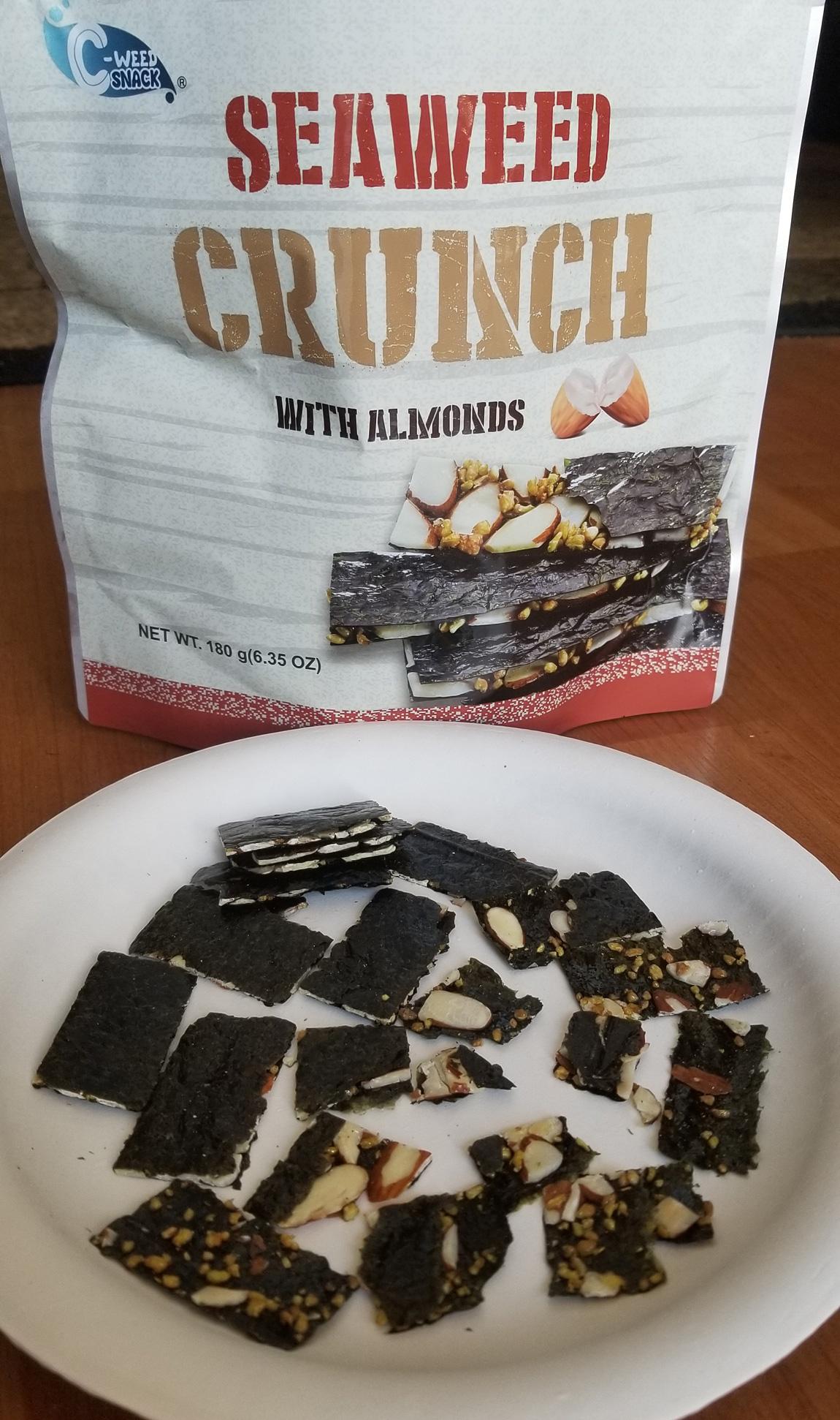 Costco Eats: Seaweed Crunch with Almonds – Tasty Island