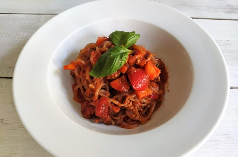 Die beste Keto Pasta - Low Carb Spaghetti Bolognese