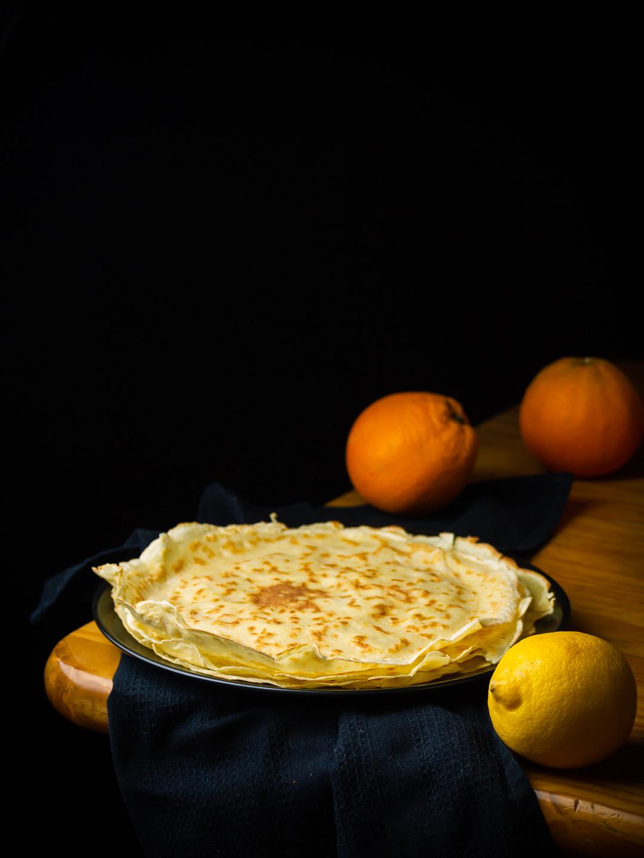 Crêpe Suzette recipe © Gitta Polak www.tastyshot.nl