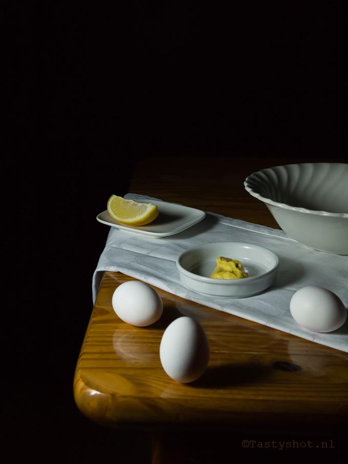 Still life Mayonnaise. Photography: © Gitta Polak www.tastyshot.nl
