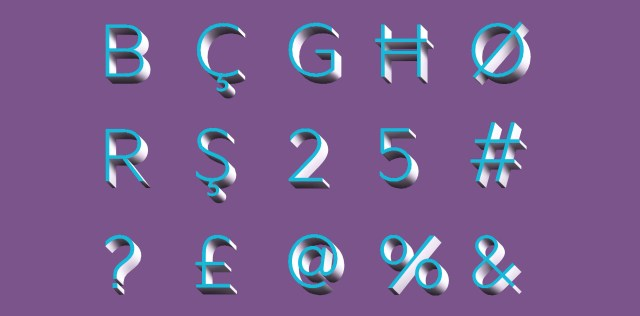 Create your own 3D typeface | Design for Immersive Technologies