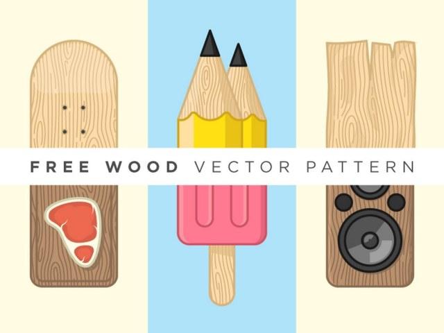Free Wood Vector Pattern
