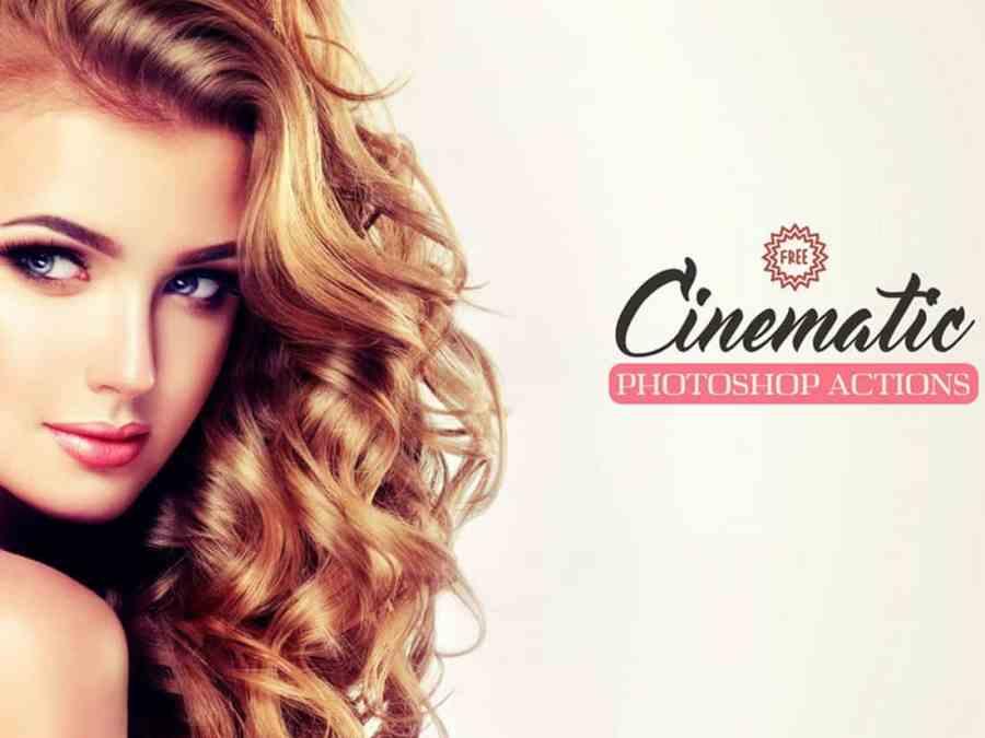 Cinematic Free Portrait Photoshop Action