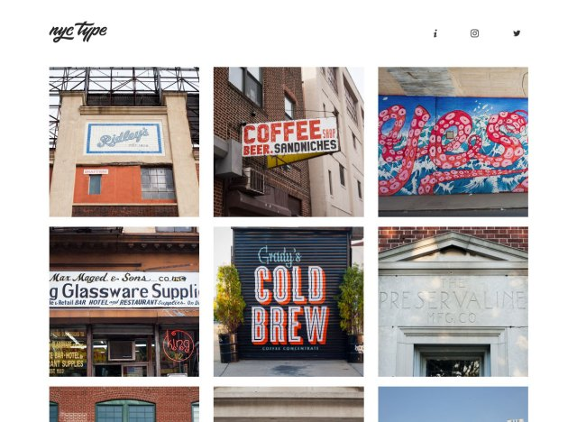 Top typography resources: NYC Type