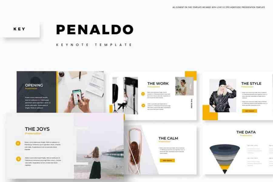 Penaldo - Creative Keynote Template