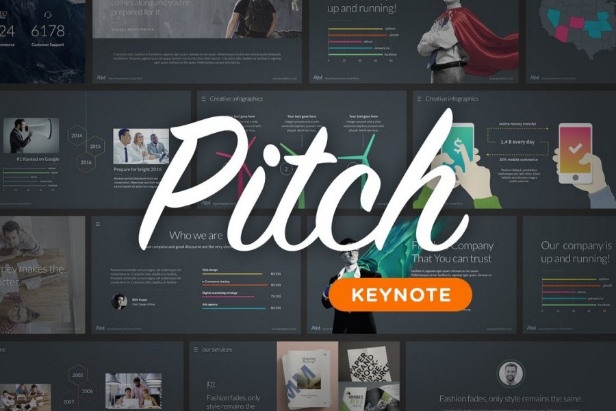 Pitch - Animated Keynote Template