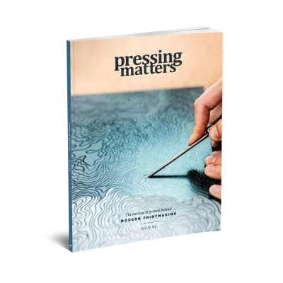 Pressing Matters magazine cover