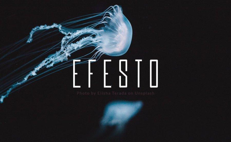 Efesto - Free Minimal Space Font