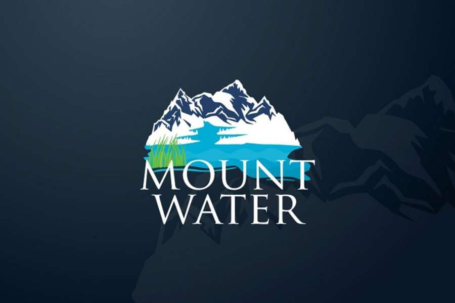Mount Water - Free Nature Logo Template