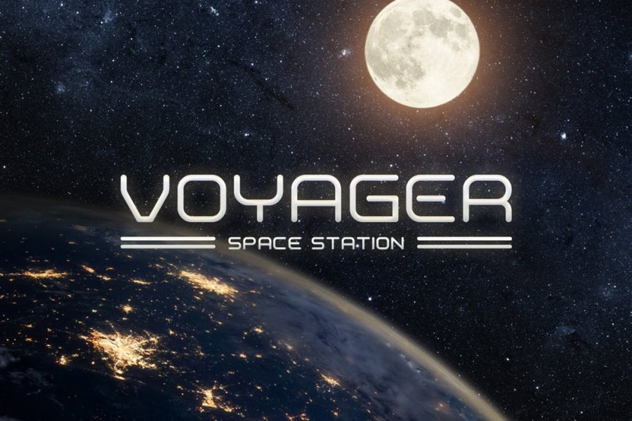 Voyager Modern Space Font