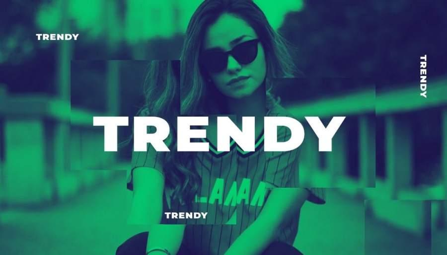 Trendy Typo Opener - Premiere Pro Template