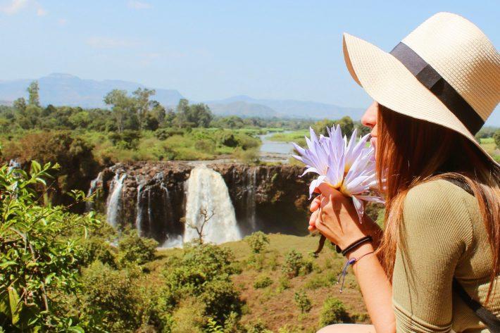Cataratas Nilo Azul Etiopía