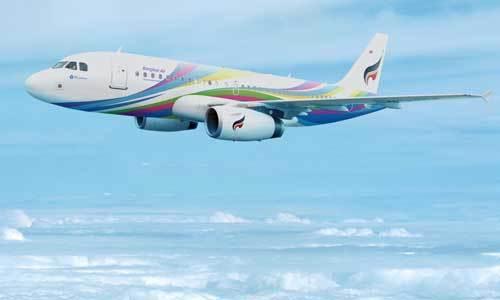 Bangkok-Airways-Airbus-319-Hiroshima