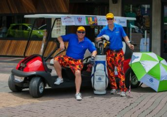World record attempt: golf cart drive from Pattaya to Phuket