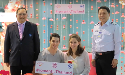 Amazing Romance in Thailand