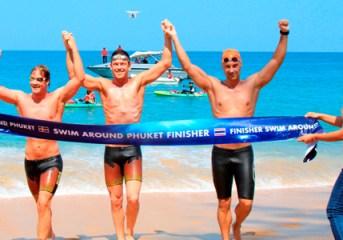 Phuket makes history with its first swim around island event
