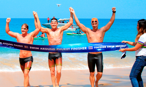 Phuket makes history with its first swim around island event