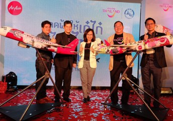 TAT and AirAsia named winners of Spice Up the Sky with Thai design competition