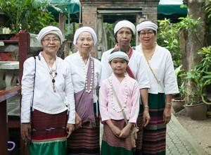 Tai Kheun people in Chiang Mai