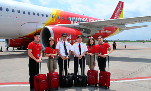 Vietjet launches domestic flights in Thailand