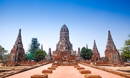 Thailand Ayutthaya wat-chaiwatthanaram