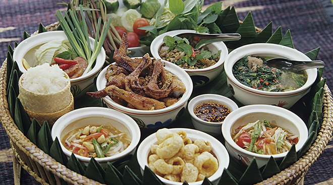 CNN names Isan as one of top 17 places to visit in 2017_some of the many signature Isan dishes