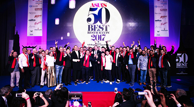 Nine restaurants in Bangkok named among 50 best in Asia 2017_Winning Chefs