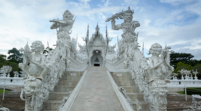 Northern Delights – three days in Chiang Mai and Chiang Rai_Wat Rong Khun