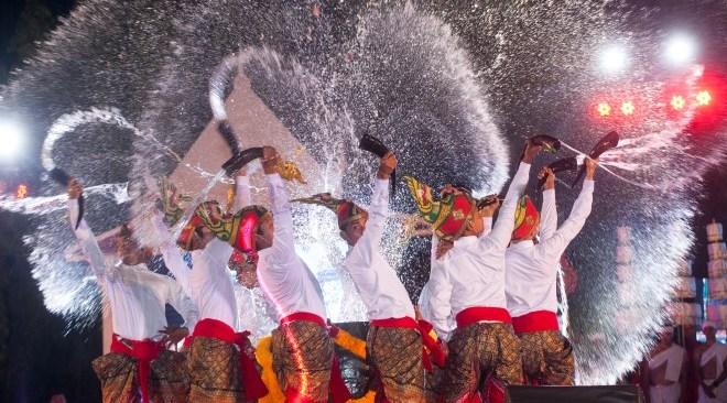 Celebrating Songkran a unique way in Nakhon Si Thammarat