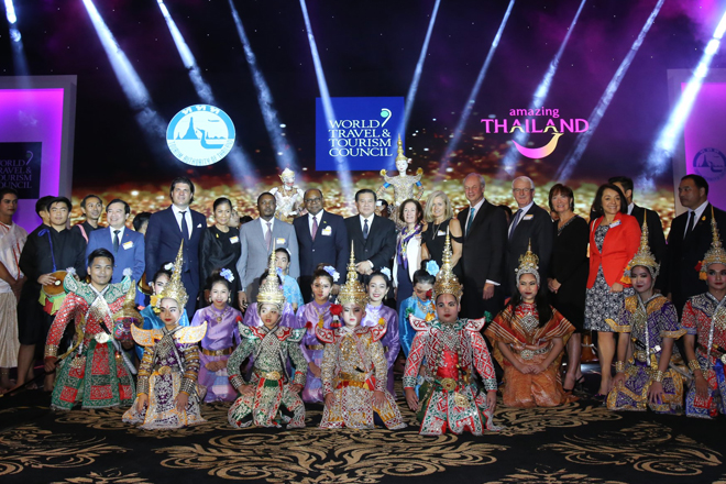 Thailand put on spectacular welcome dinner for 2017 WTTC Global Summit delegates