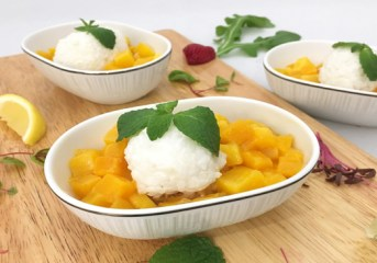 THAI marks 57th year serving mango sticky rice on Taipei flights
