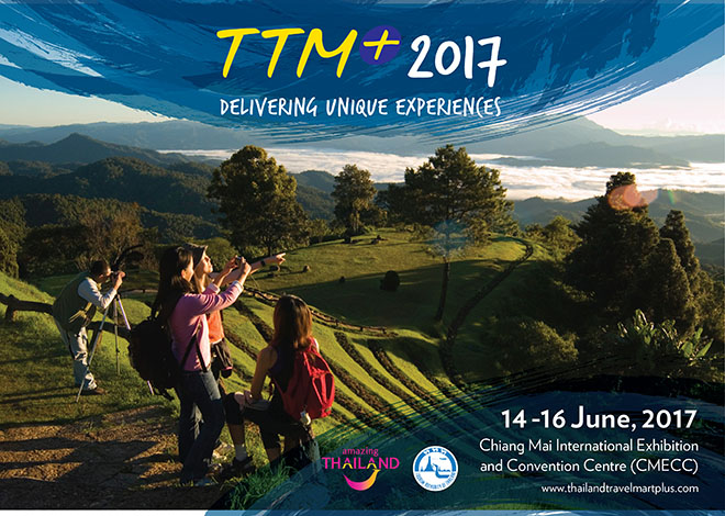 Thailand Travel Mart Plus 2017 to feature leading speakers on tourism trends