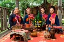 local Phu Thai ethnic group