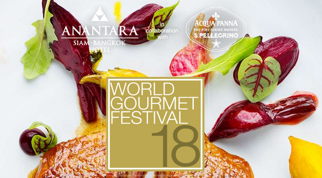 18th World Gourmet Festival Returns to Anantara Siam Bangkok Hotel