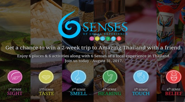 Enter '6 Senses Project' to win real Local Thai Travel Experience