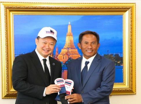 TAT Governor welcomes Thailand's Number One Golf Ambassador Thongchai Jaidee