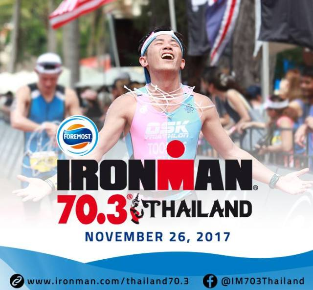 Top 10 running events in Thailand-Foremost IRONMAN 70.3 Thailand