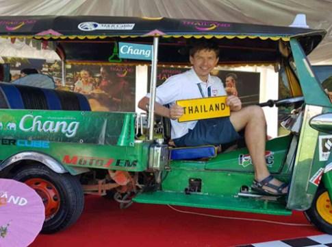 Tourism Authority of Thailand scores big with Tuk Tuk at Hungarian Formula 1