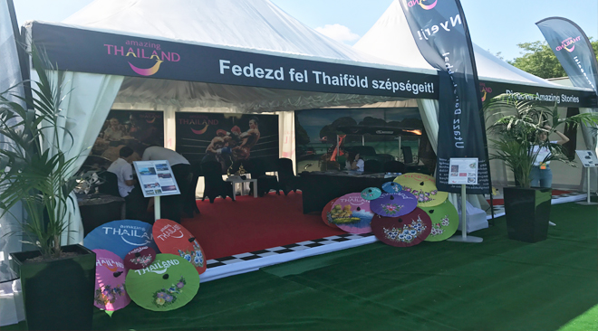 Tourism Authority of Thailand scores big with Tuk Tuk at Hungarian Formula 1