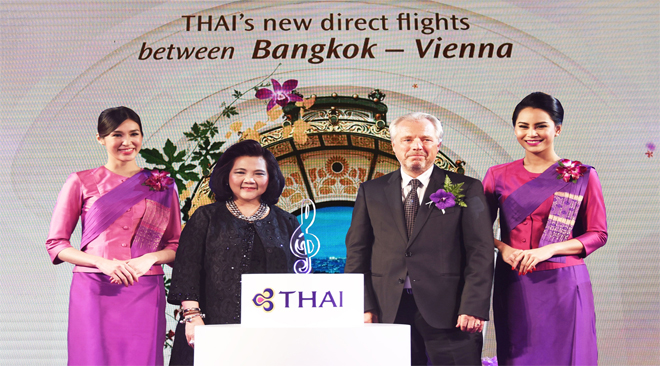 THAI launches flights to Vienna on 16 November