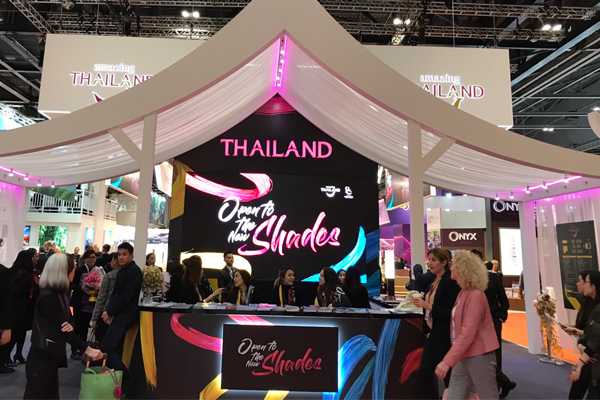 Open to the New Shades of Thailand booth at WTM London 2017
