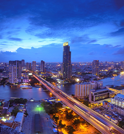 Bangkok - night scene