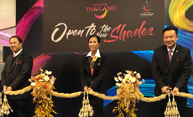 Open to the New Shades of Thailand at WTM London 2017