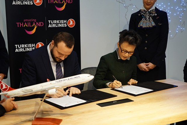 TAT and Turkish Airlines singed MOU on tourism cooperation
