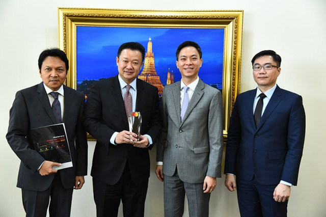 TAT celebrates Mastercard's Global Travel City honour 2017 for Bangkok