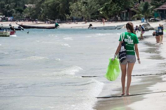 Trash Hero, Sairee Beach, Ko Tao