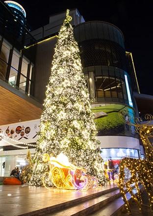 Christmas Lights at Gaysorn Village